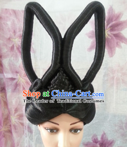 Chinese Classical Black Women Wigs for Girls