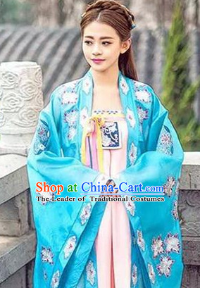 Blue Empress Hanfu Clothing for Women