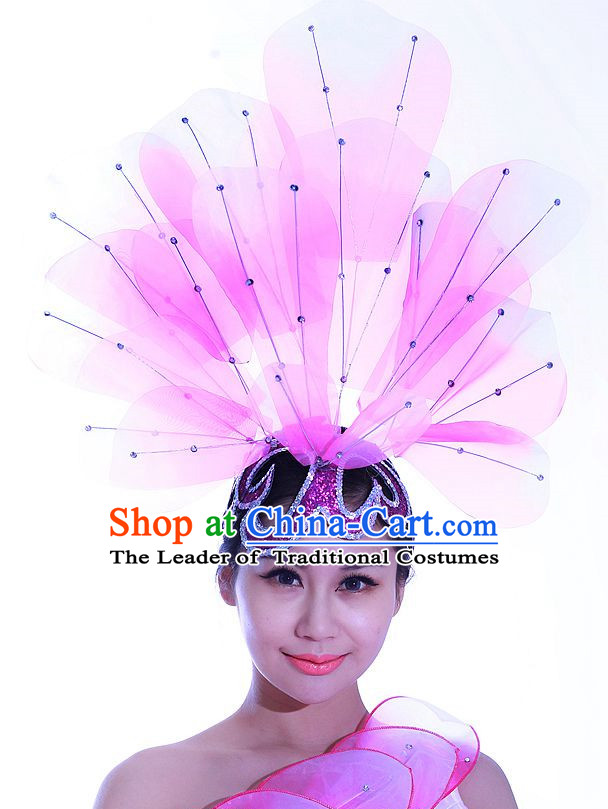 Chinese Folk Dance Headdress Headpieces