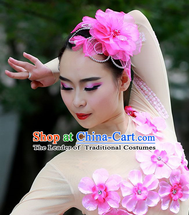 Chinese Folk Dance Headdress