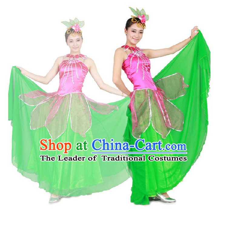 Chinese Teenagers Dance Costume for Competition