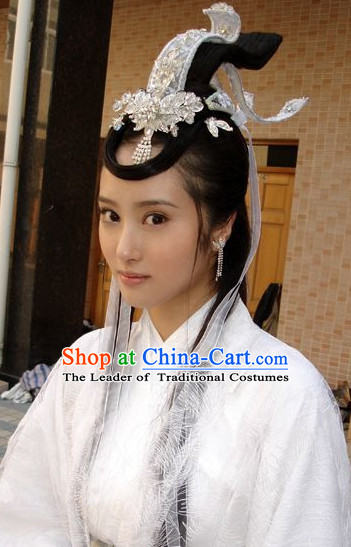 Chinese Handmade Fairy Flower Hair Accessories Headband Headbands Fascinators Wedding Hair Clips