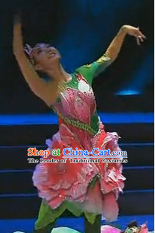 Chinese Flower Dance Costumes Dancewear Discount Dane Supply Clubwear Dance Wear China Wholesale Dance Clothes