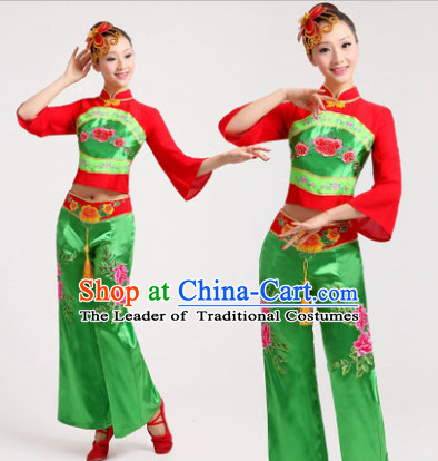Chinese Dance Costume Dancewear Discount Dane Supply Clubwear Dance Wear China Wholesale Dance Clothes for Girls