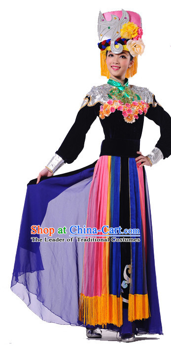Chinese Folk Dancing Costumes Dancewear Discount Dane Supply Dance Wear China Wholesale Dance Clothes
