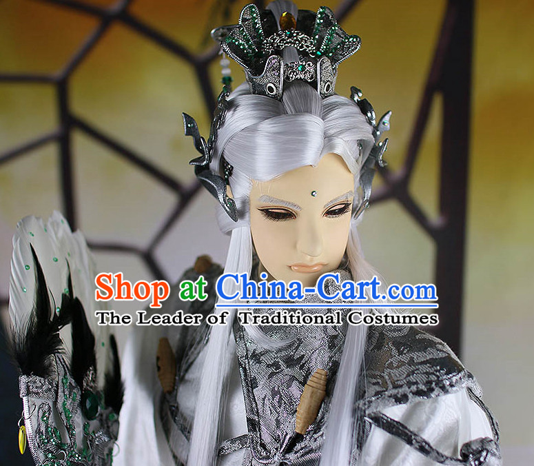Chinese ancient hairstyles hair extensions wigs brazilian ace front wigs bows sisters weave pieces