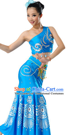 Chinese Dai Folk Dance Costumes Dancewear Discount Dane Supply Clubwear Dance Wear China Wholesale Dance Clothes