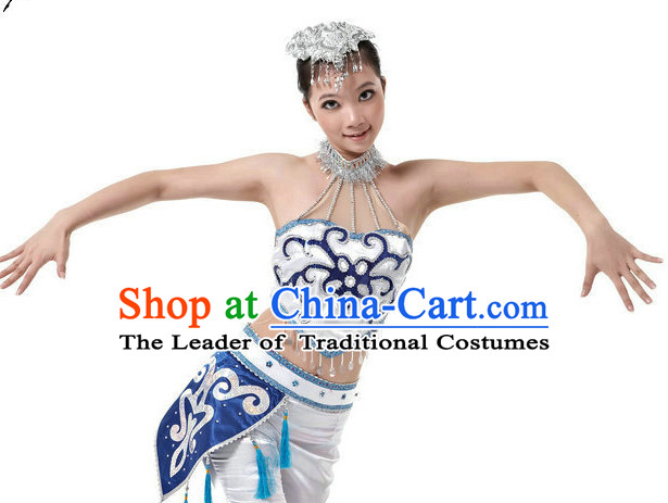Chinese Folk Dance Costumes Dancewear Discount Dane Supply Clubwear Dance Wear China Wholesale Dance Clothes