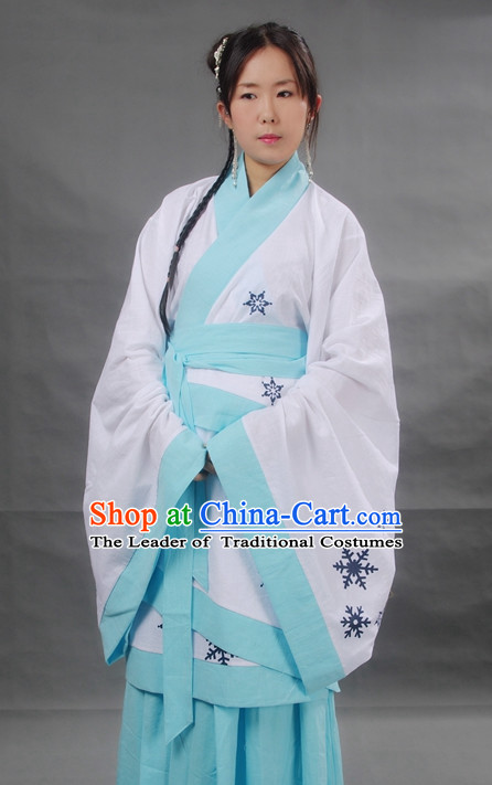 Chinese Girl Hanfu Costume Ancient Costume Traditional Clothing Traditiional Dress Clothing online