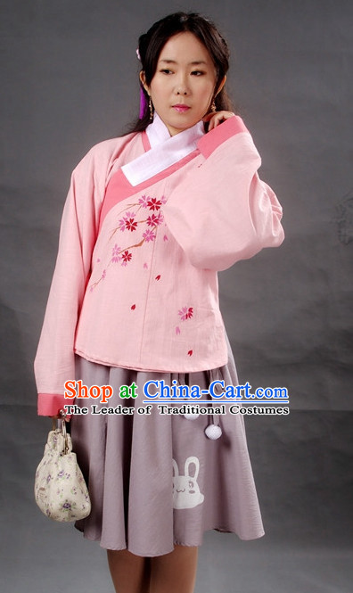 Modern Chinese Girl Hanfu Costume Ancient Costume Traditional Clothing Traditiional Dress Clothing online