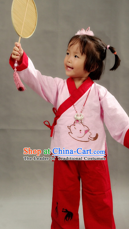 Chinese Little Girs Hanfu Costume Ancient Costume Traditional Clothing Traditiional Dress Clothing online