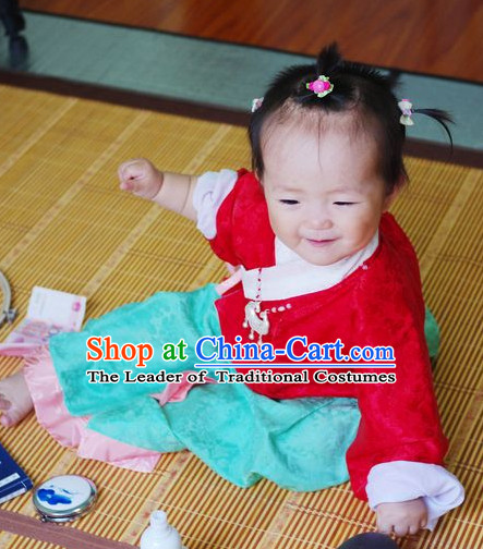 Chinese Hanfu Costume Ancient Costume Traditional Clothing Traditiional Dress Clothing online for Kids