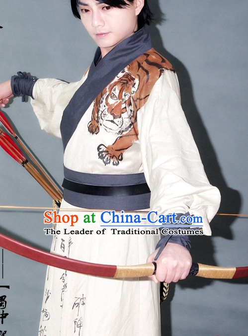 Chinese Superhero Costumes Hanfu Costume Ancient Costume Traditional Clothing Traditiional Dress Clothing online
