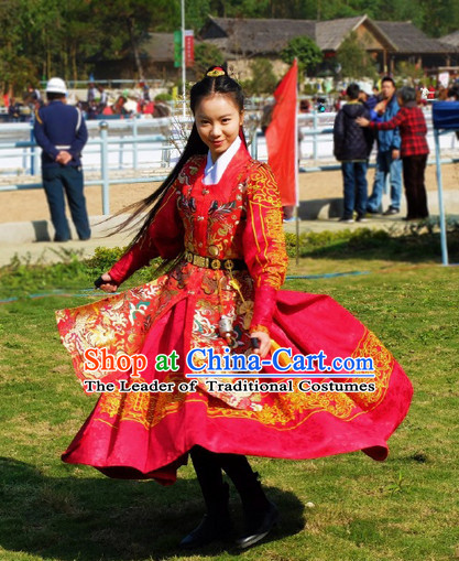 Chinese Ancient Ming Dynasty Suits Costumes Dresses