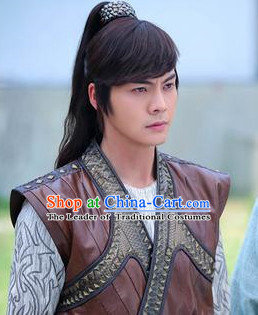 Ancient Chinese Swordsman Male Wigs