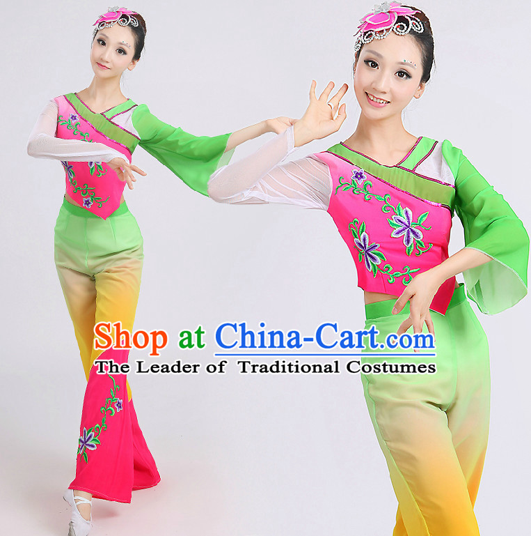 Chinese Classic Dance Costumes Dancing Costume Discount Dance Costume Gymnastic Leotard Dancewear China Dress Dance Wear