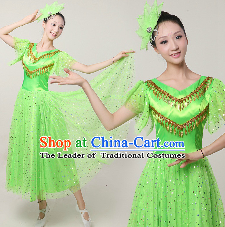 d74d6bbd7 Ancient China National Costumes and Hair Accessories Complete Set