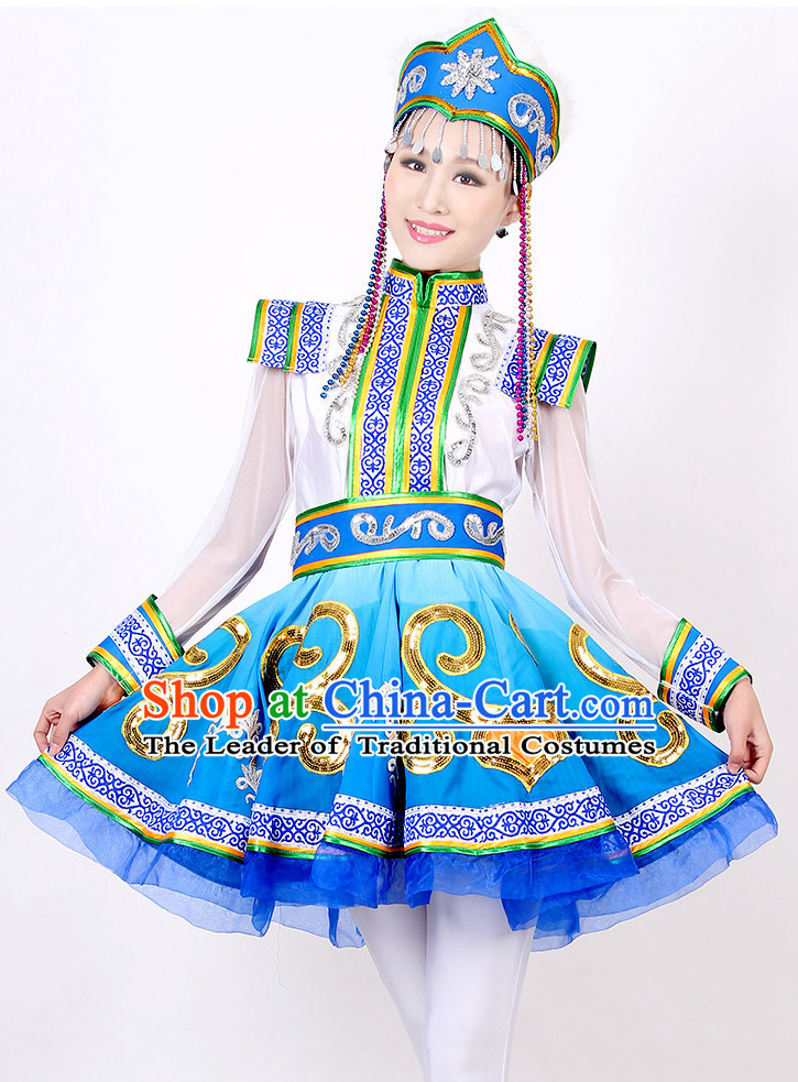 Mongolian Chinese Style Dance Costume Ideas Dancewear Supply Dance Wear Dance Clothes Suit