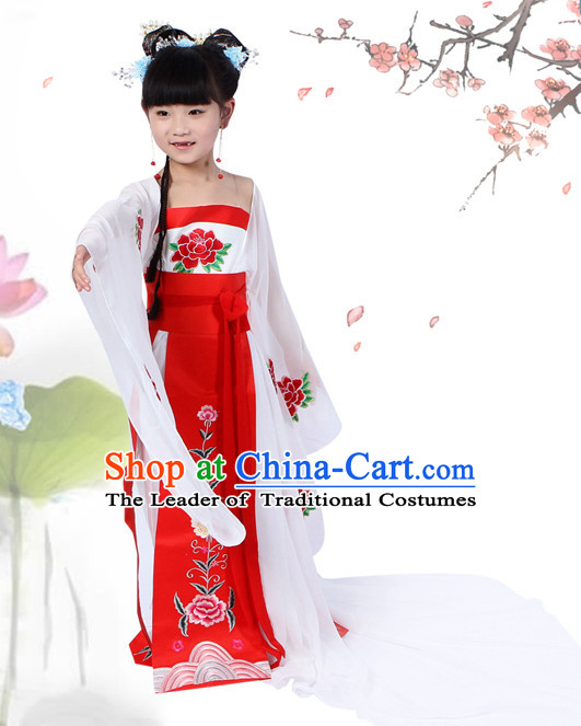 Chinese Halloween Costumes for Kids Baby Hanfu Clothes Toddler Halloween Costumes Kids Clothing