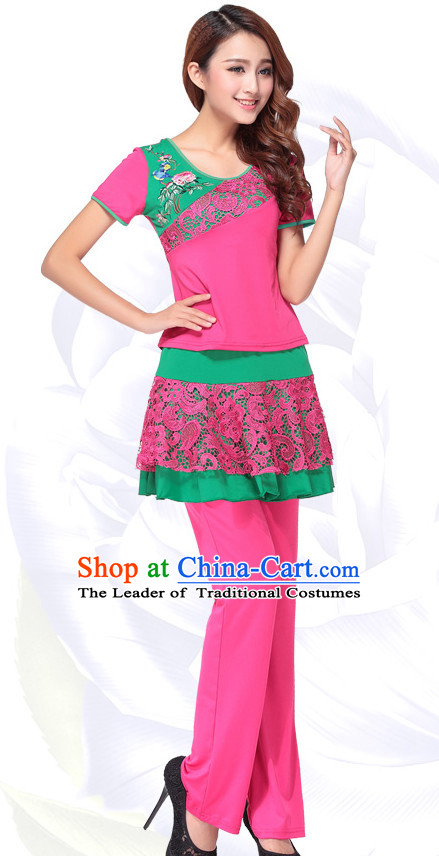 Chinese Gymnastics Dance Costume Ideas Dancewear Supply Dance Wear Dance Clothes Outfits