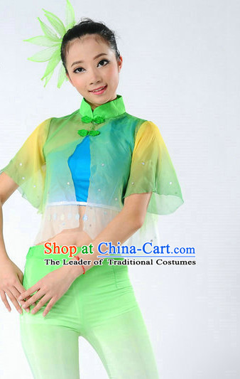 Chinese Folk Dancing Outfits for Women
