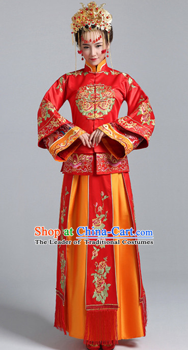 Top Chinese Brides Bridal Outfits