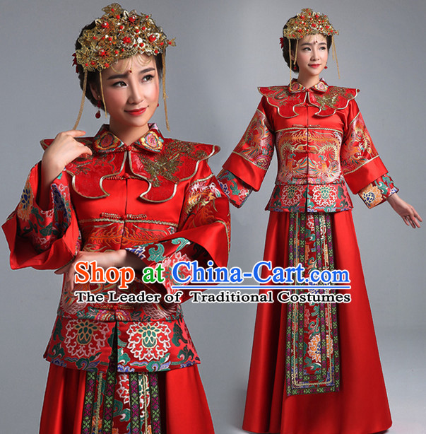 Classical Chinese Wedding Suits for Women