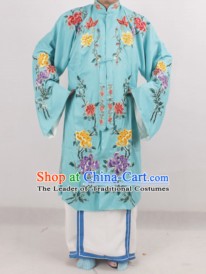 Chinese Peking Opera Hua Dan Costume Long Robes for Women
