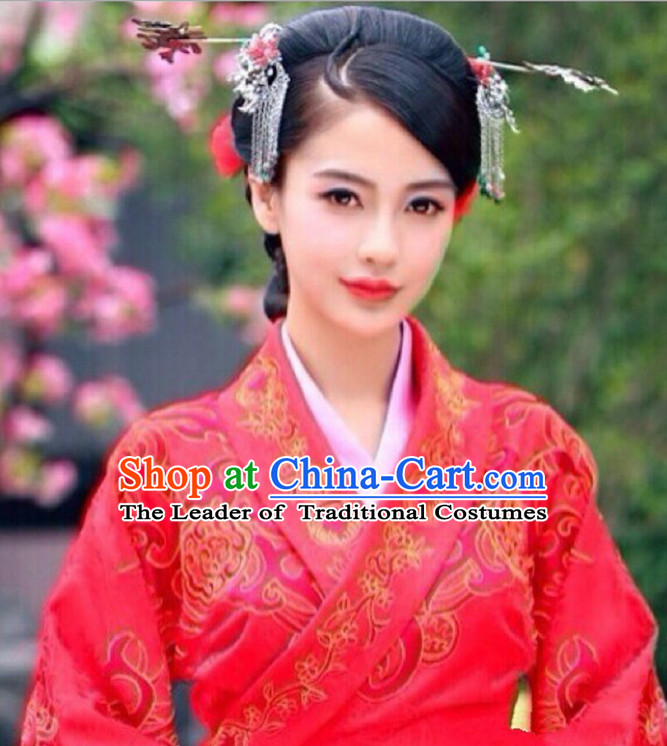 Ancient Chinese Wedding Hairpins Hair Accessories Set