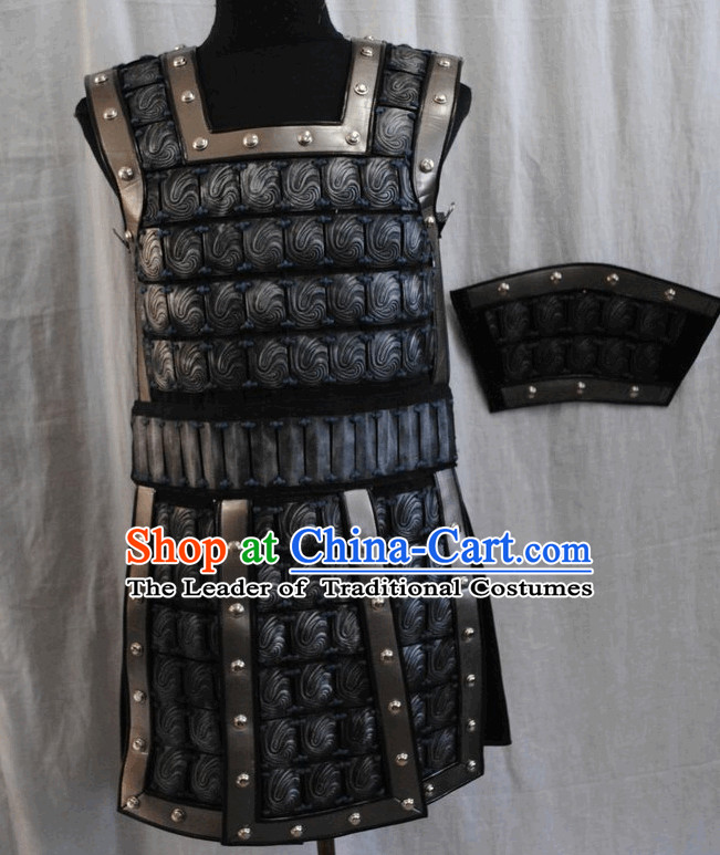 Ancient Chinese War Warrior Costume Armor Suit
