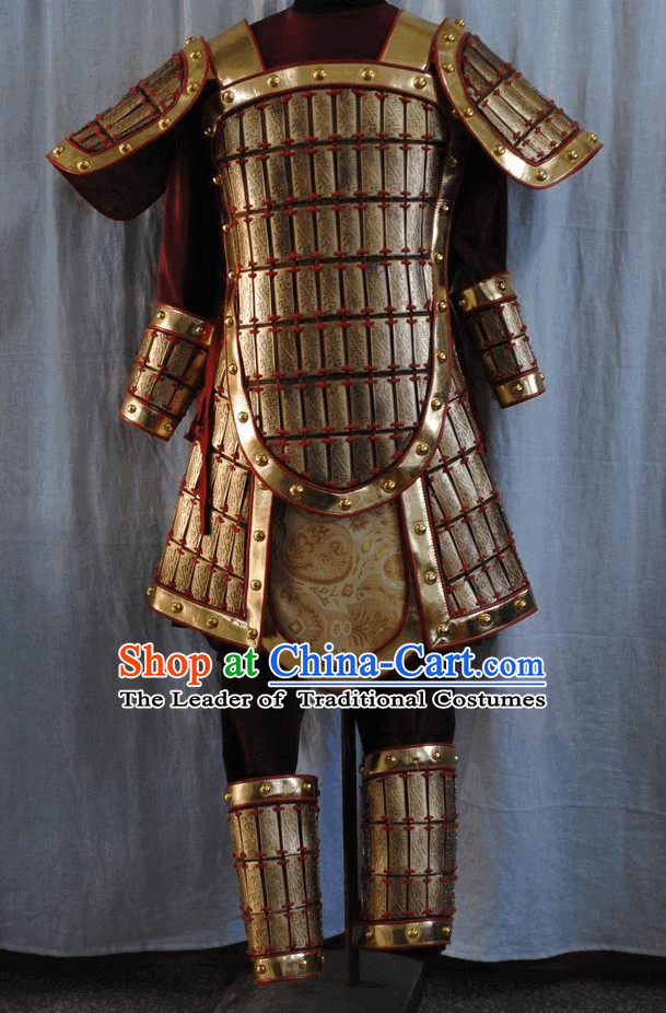 Ancient China Warrior Costume