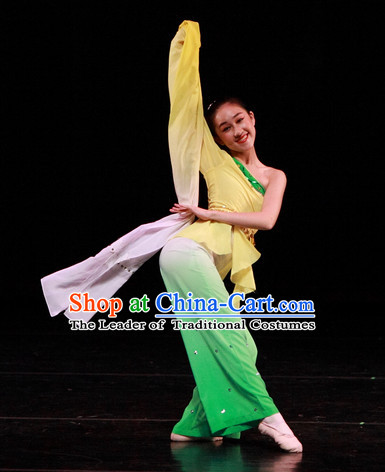 Chinese Long Sleeves Dance Apparel Dance Supplies