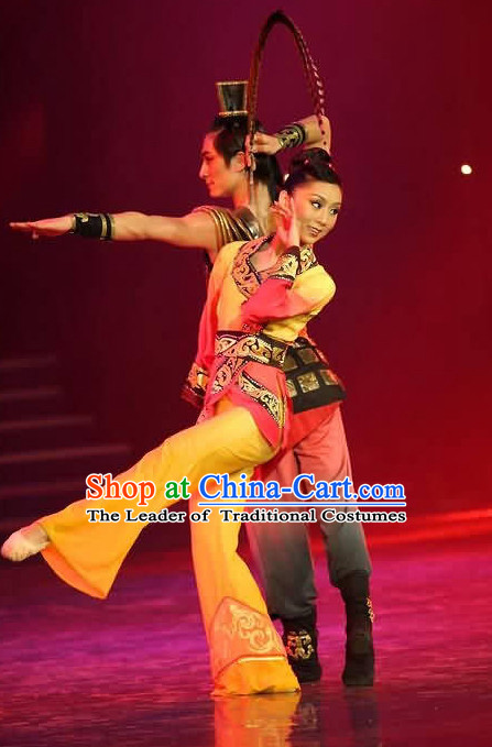 Chinese Classic Han Dance Costume for Women