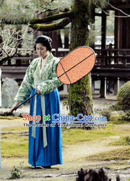 Tang Dynasty Maid Female Clothing