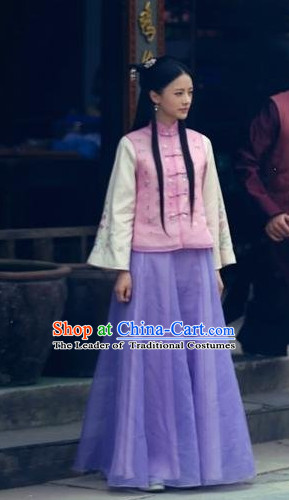 China Minguo Time Noblewomen Long Outfits