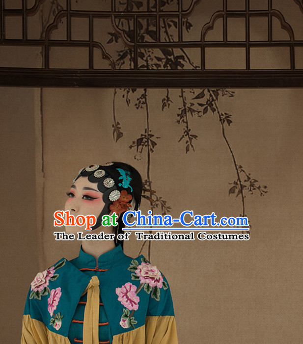 Chinese Opera Wigs and Hair Accessories