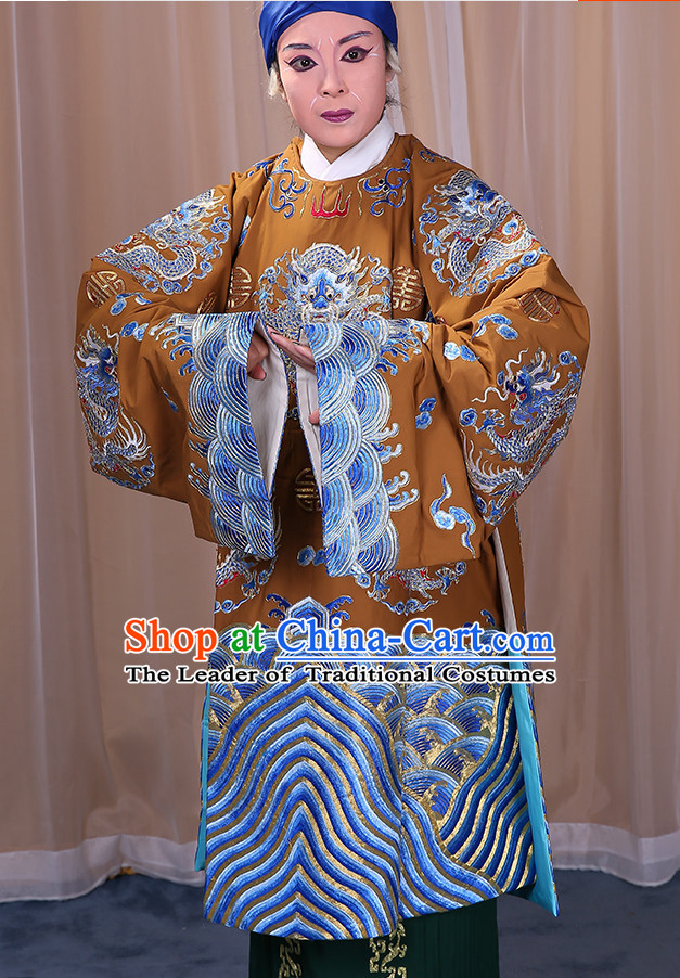 Ancient Chinese Beijing Opera Costumes Peking Opera Grandmother Queen Costume Complete Set for Women