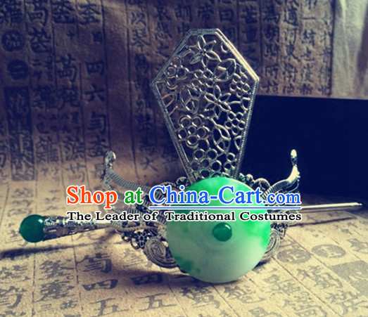 Ancient Chinese Prince Jade Hair Accessories