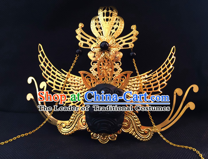 Ancient Chinese Prince Crown Headwear Hair Accessories