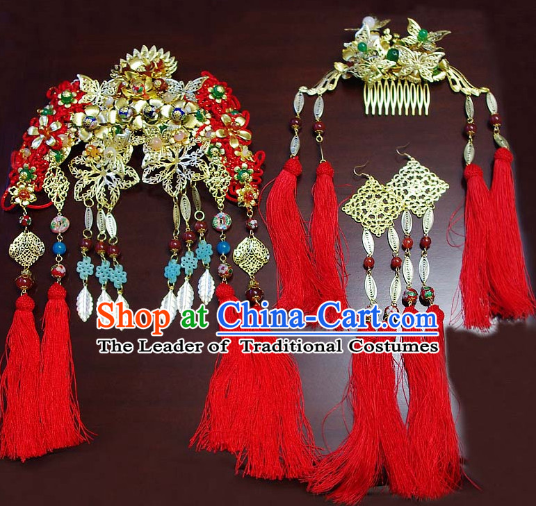 Ancient Chinese Bridal Hair Accessories