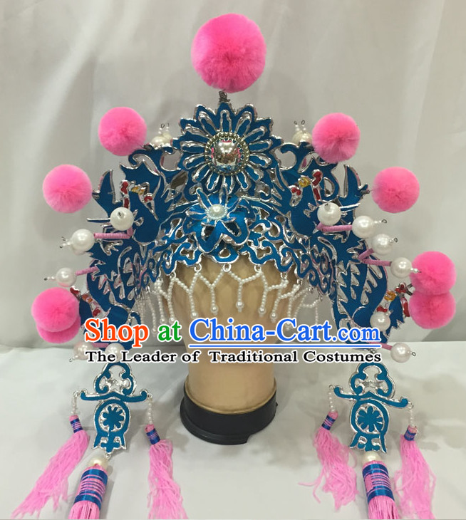 Ancient Chinese Opera Palace Lady Hat for Women