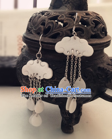 Ancient Chinese Cloud Shape Earrings for Women