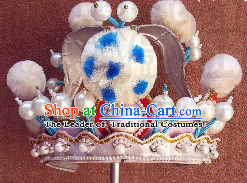 Traditional Chinese Classica Opera Prince Hat for Men