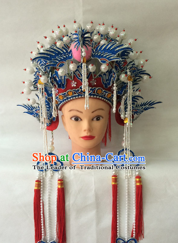 Traditional Chinese Classical Opera Phoenix Coronet Crown
