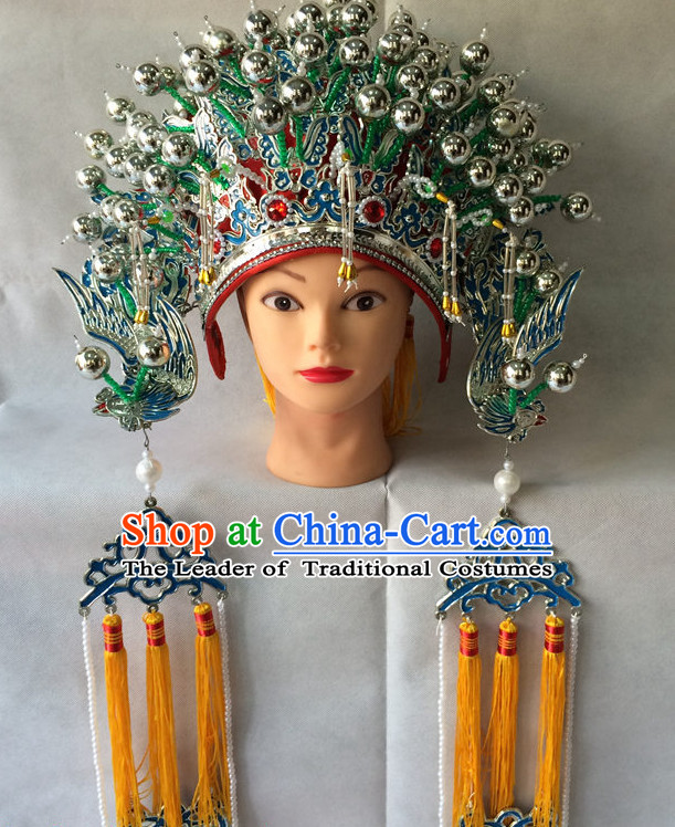Traditional Chinese Classical Opera Phoenox Coronet Hat for Women