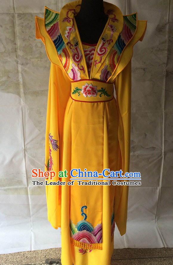 Ancient Chinese Opera Embroidered Empress Costume Complete Set for Women