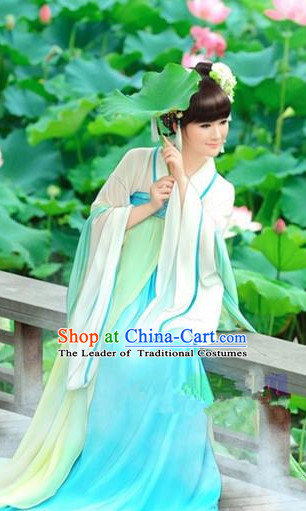 Chinese Classical Tang Dynasty Clothes for Women or Girls