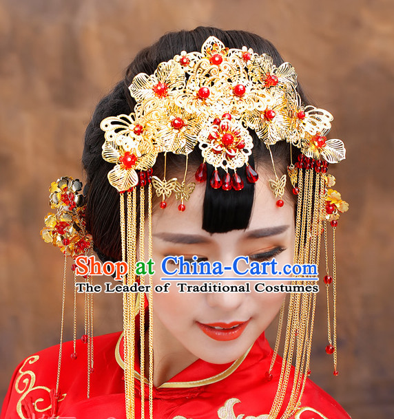 Chinese Ancient Style Wedding Headpieces