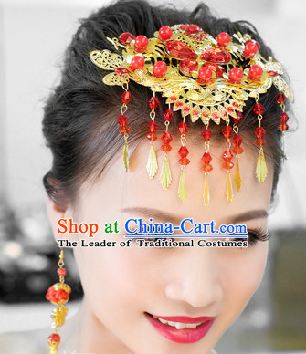 Traditional Chinese Style Wedding Headpieces