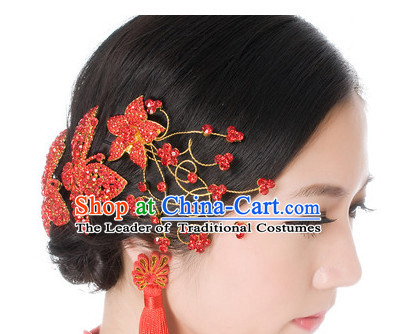 Traditional Chinese Princess Brides Wedding Headpieces Decorations